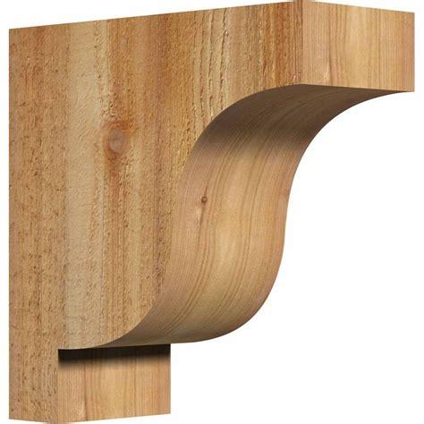 Corbel Of by Ekena Millwork 4 In X 10 In X 10 In Western Cedar