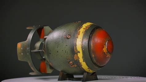 3D printing and painting the Fallout 4 Mini Nuke