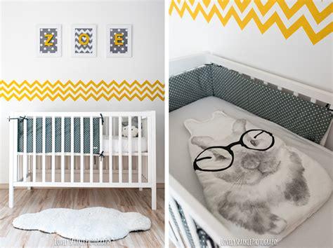 chambre bébé gris et jaune deco chambre bebe jaune et gris visuel 4