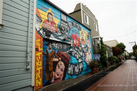 balmy murals address san francisco ca balmy alley murals darwin discovered