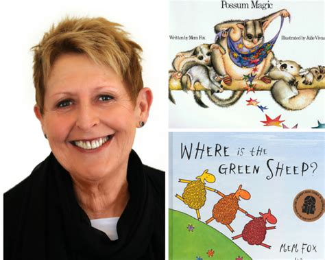 Meme Fox - mem fox the story behind possum magic and why you should read to your kids adventure baby