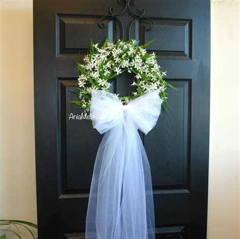 Summer Wreaths For Front Door Wreaths Wedding Bridal Shower
