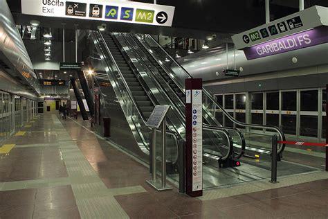 Metropolitana Porta Garibaldi by Transport In Milan