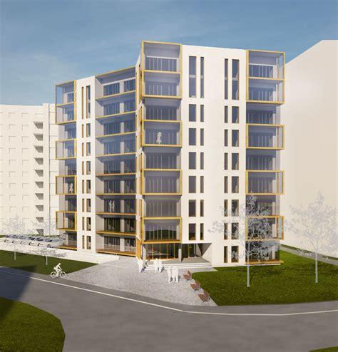 QP Arhitektid - Korterelamu konkurss Lasnamäele