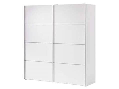 Armoire 2 Portes Coulissantes 180cm Verona Coloris Blanc