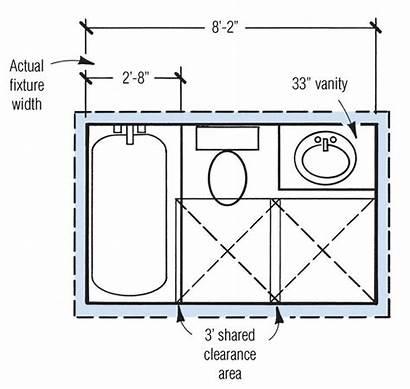 Bathroom Layout 5x7 Bathrooms Plans Floor Bath