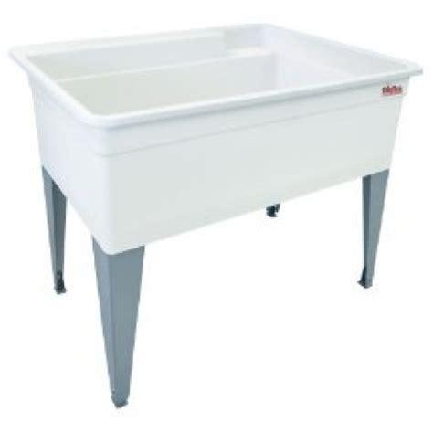 mustee laundry sink legs mustee 28f bigtub utilatub laundry tub floor mount 24