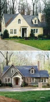 Home Design Before And After Small House Before And After Great Exterior Renovation Before Afters Front