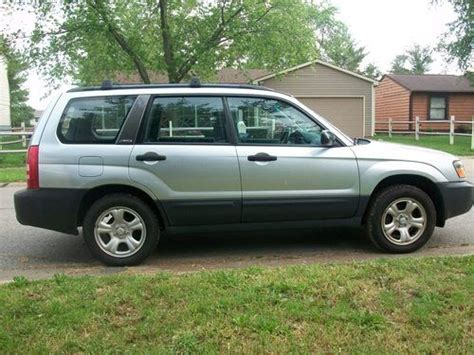 Purchase Used 2003 Subaru Forester 2.5x Awd 5 Speed Stick