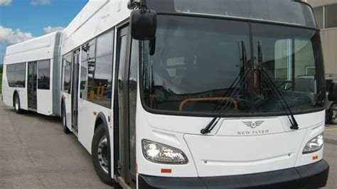 hundreds   flyer bus plant workers  face layoffs
