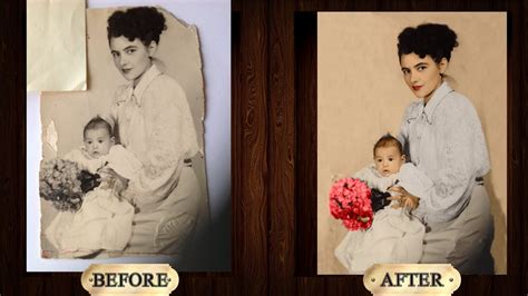 adobe photoshop photo restoration color restoration