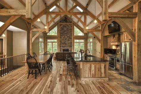 4 Homes With Design Focused On Beautiful Wood Elements by For Wood Log Timberframe And Post And Beam Houses