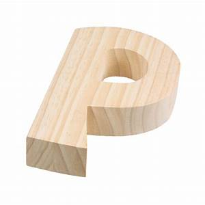 775quot chunky wooden letter p 9190 692p craftoutletcom With chunky wooden letters