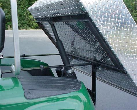 golf cart club car precedent aluminum electric dump box