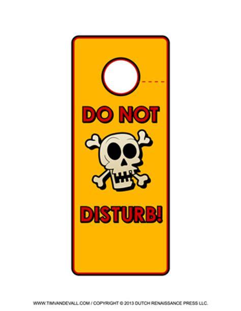 Free Do Not Disturb Door Hanger Template by Free Printable Door Hanger Templates Blank Downloadable Pdfs