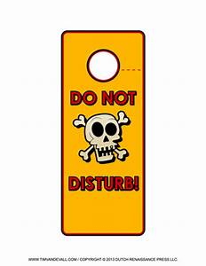 Free printable door hanger templates blank downloadable pdfs for Free do not disturb door hanger template