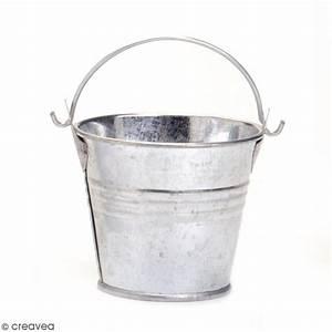 Seau En Metal : seau en m tal 6 x 6 cm objets divers d corer creavea ~ Teatrodelosmanantiales.com Idées de Décoration