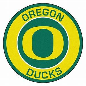 "University of Oregon Ducks Logo Roundel Mat - 27"""