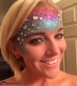 Rainbow Fish Costume Makeup