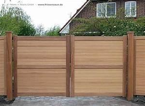 Stunning Gartentor Holz Blickdicht Gallery
