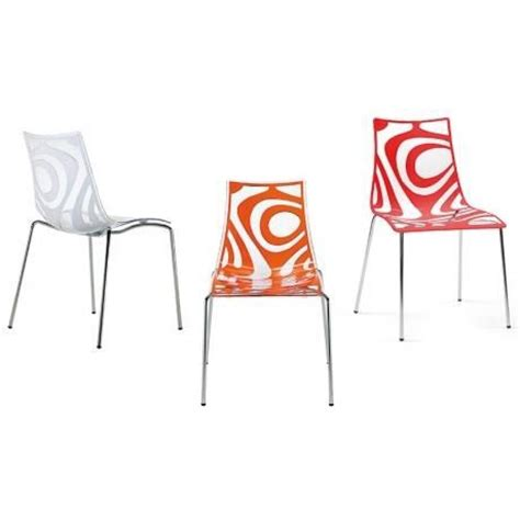 wars chaise en polycarbonate orange achat vente chaise