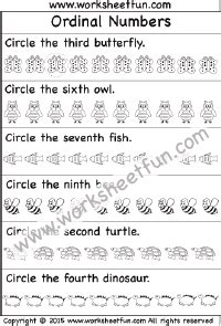 ordinal numbers 2 worksheets ordinal numbers ordinal