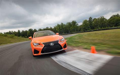 2018 Lexus Rc F Orange Motion 4 2560x1600 Wallpaper