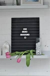 Scrabble Buchstaben Deko : diy letterboard mit scrabble buchstaben von herzen basteln valentinstag und valentinstag ~ Yasmunasinghe.com Haus und Dekorationen