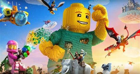 minecraft  lego worlds announced  ps  xbox
