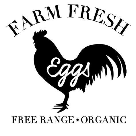 farm fresh eggs svg cut files craftables