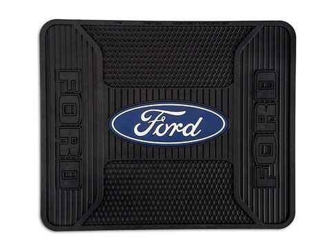 floor mats with ford logo trushield ford logo elite rear utility f 150 floor mat t526387 97 17 all free shipping
