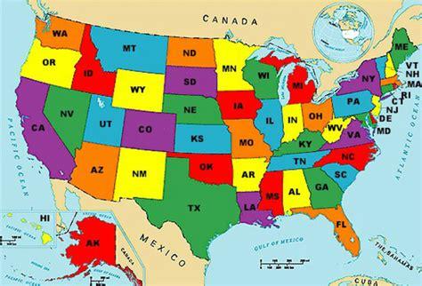 map  usa photo