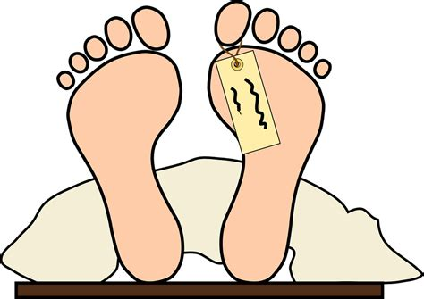 Toe Tag Body Feet · Free Vector Graphic On Pixabay