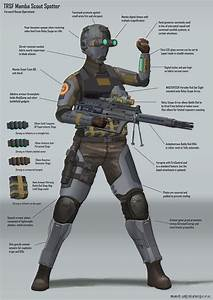 Mamba Scout Spotter 02 Combat Gear Diagram By Magnum117 On