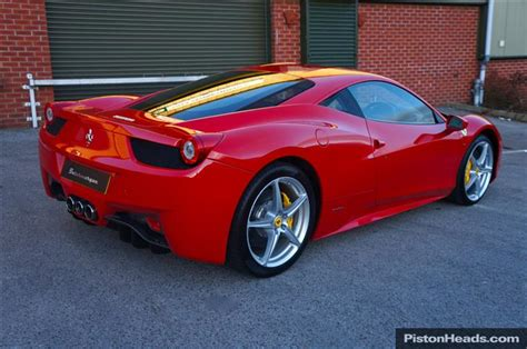 Here are some points we want you to know; Used 2011 Ferrari 458 for sale in Manchester   Pistonheads