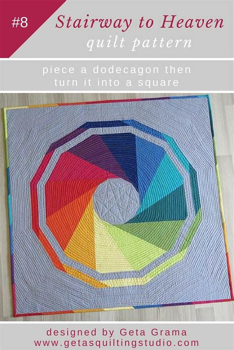 Patchwork Muster Modern by Modern Geometric Patchwork Quilt Pattern