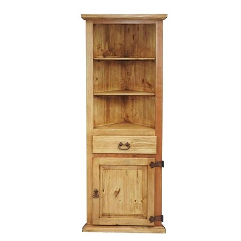 small corner hutch traditional small corner hutch rustics for less