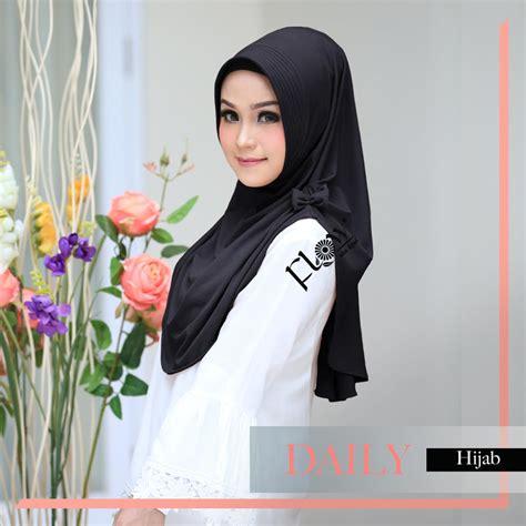 jual jilbab flow instan daily toko jilbab  branded hijab instan kerudung terbaru