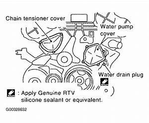 2004 Nissan Quest Serpentine Belt Routing And Timing Belt Diagrams