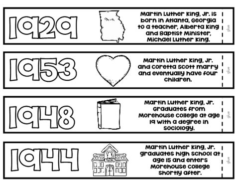 Martin Luther King Math Worksheets Sanfranciscolife