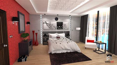 femme de chambre hotel de luxe 3d design intérieur chambre d hotel rendu realiste vray