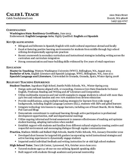 Tutoring Experience On A Resume by High School Tutor Resume Template Resumes Design