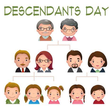 descendants day june  family tree images family