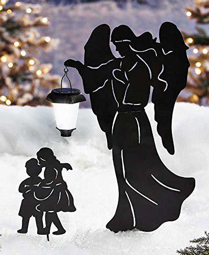 guardian angel children solar powered lighted lantern