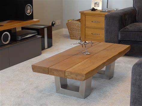 Industrial Style Coffee Table Project #