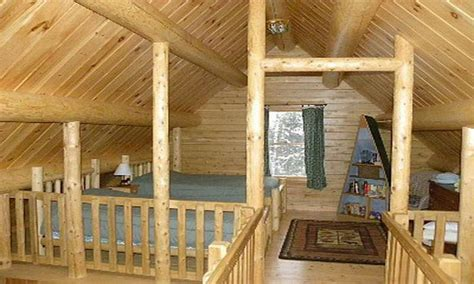 Simple Cabin Plans With Loft Simple Log Cabin House Plans