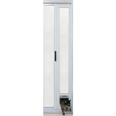 ideal sliding patio panel insert cat pet small door 4