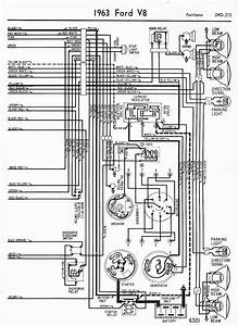 Wiring Diagrams Of 1963 Ford V8 Fairlane Part 2  U2013 Circuit