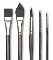 Squirrel brushes art supplies at blick art materials for Luco lettering brushes