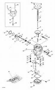 Bombardier 2000 Traxter - 7413  7414  Carburetor